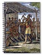 Native American Council, C1835 Spiral Notebook