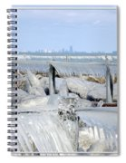 Natures Ice Sculptures 12 Spiral Notebook
