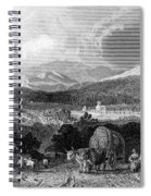 New Hampshire, 1839 Spiral Notebook