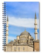 New Mosque In Istanbul Spiral Notebook