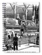 New Orleans Fair, 1884 Spiral Notebook