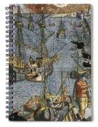 New World: Voyage, 1592 Spiral Notebook