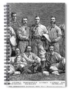 New York Baseball Team Spiral Notebook