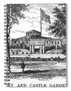 New York: Castle Garden Spiral Notebook
