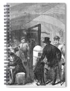 New York: Poverty, 1868 Spiral Notebook