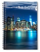 New York Skyline Spiral Notebook