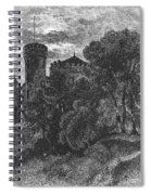 New York State: Castle Spiral Notebook