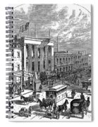 New York: The Bowery, 1871 Spiral Notebook