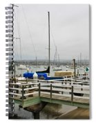 Newport Bay And Balboa Island Spiral Notebook