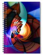 Night In Town Spiral Notebook