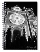 Nighttime Religious Celebrations Spiral Notebook