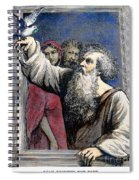 Noah Receives The Dove Spiral Notebook