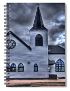 Norwegian Church Cardiff Bay Spiral Notebook