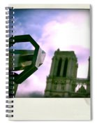 Notre Dame De Paris. France Spiral Notebook