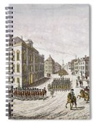 Occupied New York, 1776 Spiral Notebook
