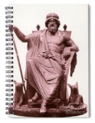 Odin, Norse God Spiral Notebook