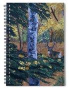 #1 Of A Triptych Spiral Notebook