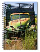 Old Green Truck Spiral Notebook