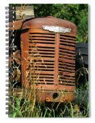 Old Mccormick Deering Spiral Notebook
