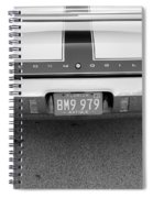 Olds C S In Black And White Spiral Notebook