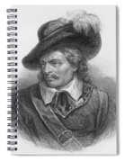 Oliver Cromwell, English Political Spiral Notebook