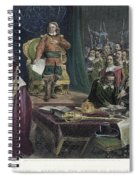 Oliver Cromwell Spiral Notebook