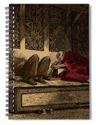 Opium Den Spiral Notebook