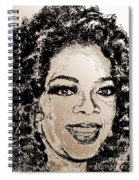 Oprah Winfrey In 2007 Spiral Notebook
