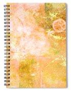Orange Peel Spiral Notebook