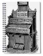 Organ, 19th Century Spiral Notebook