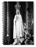 Our Lady Of Fatima Spiral Notebook