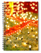 Outdoor Christmas Decorations Spiral Notebook