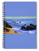 Pacific Solitude Spiral Notebook