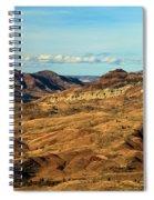 Painted Landscape Spiral Notebook