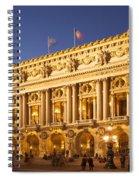 Palais Garnier Spiral Notebook