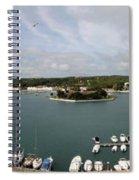 Panoramic Town 1 Spiral Notebook