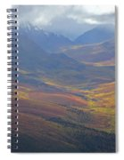 Panoramic View Of The North Klondike Spiral Notebook