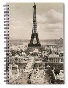 Paris: Eiffel Tower, 1900 Spiral Notebook