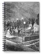 Paris: Sewers, 1869 Spiral Notebook