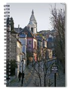 Parisian Street Scene Spiral Notebook