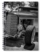 Parked Classic Spiral Notebook