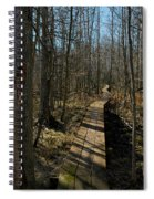 Path Into The Woods Spiral Notebook