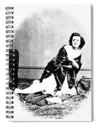 Pauline Cushman (1833-1893) Spiral Notebook