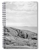 Peggy's Point Lighthouse Spiral Notebook