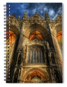 Peterborough Cathedral Spiral Notebook