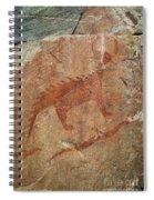 Petroglyph At Agawa Rock Spiral Notebook