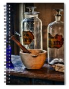 Pharmacist - Mortar And Pestle Spiral Notebook