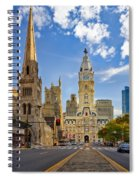 Philadelphia City Hall  Spiral Notebook