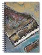 Piano Study 8 Spiral Notebook