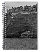 Pictured Rocks Arch Spiral Notebook